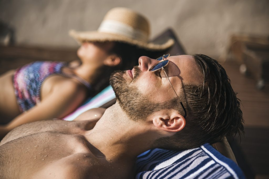 Go on vacation to deal with being overworked