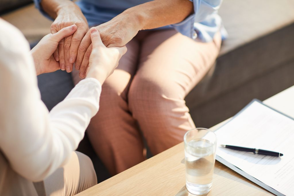 Encourage a lawyer with mental health problems