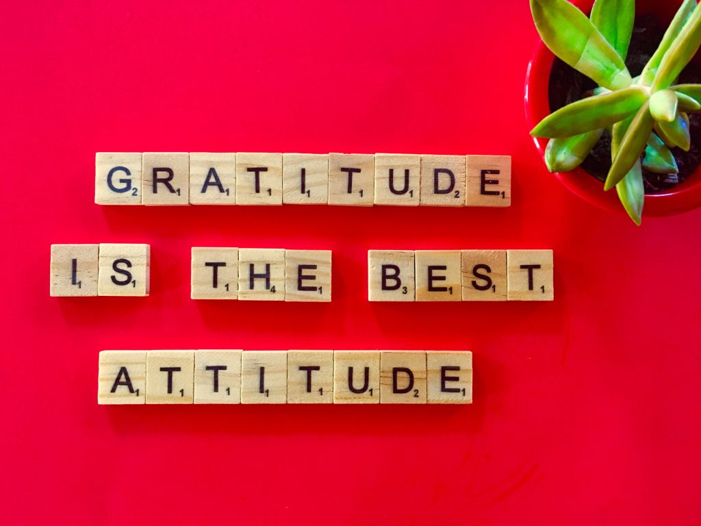 Resilient people always express gratitude