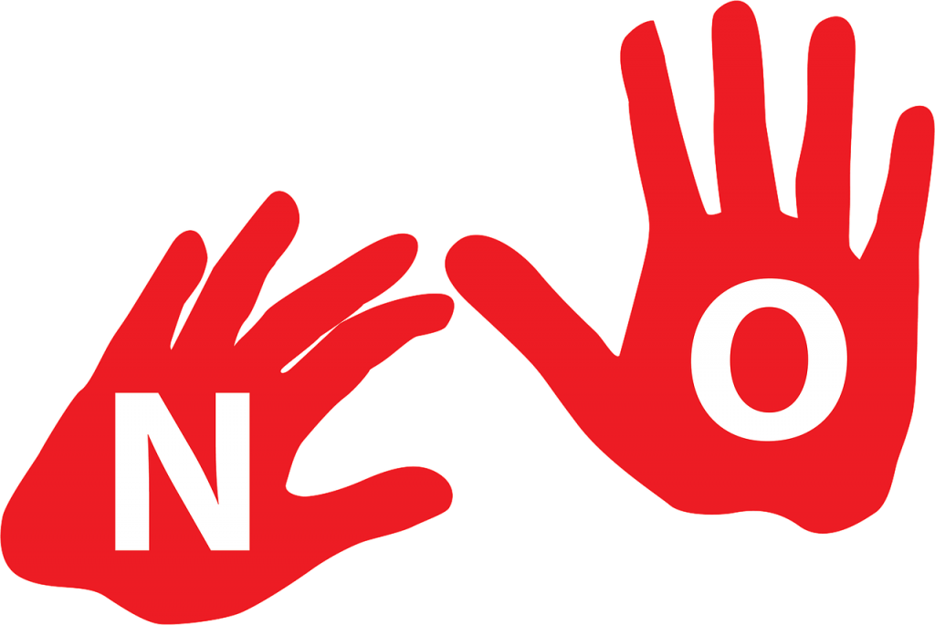 Image by Jefty Matricio from Pixabay; saying no; why is it hard to say no